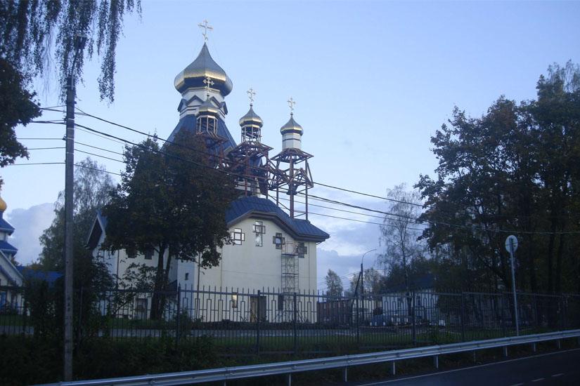 церковь рощино