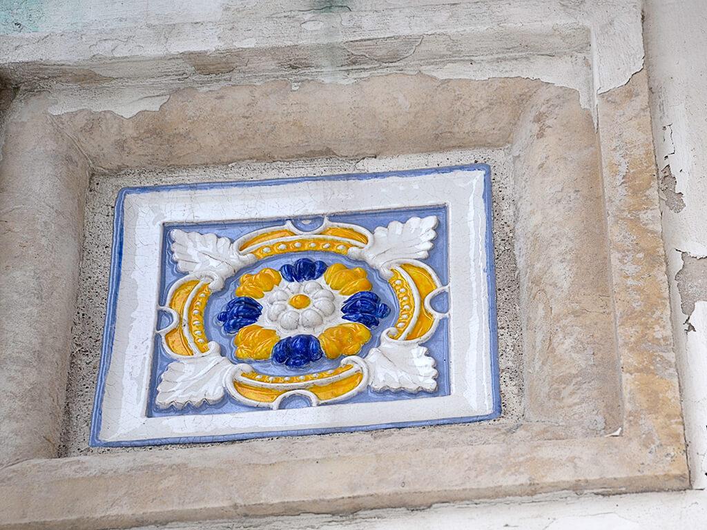майолика орнамент