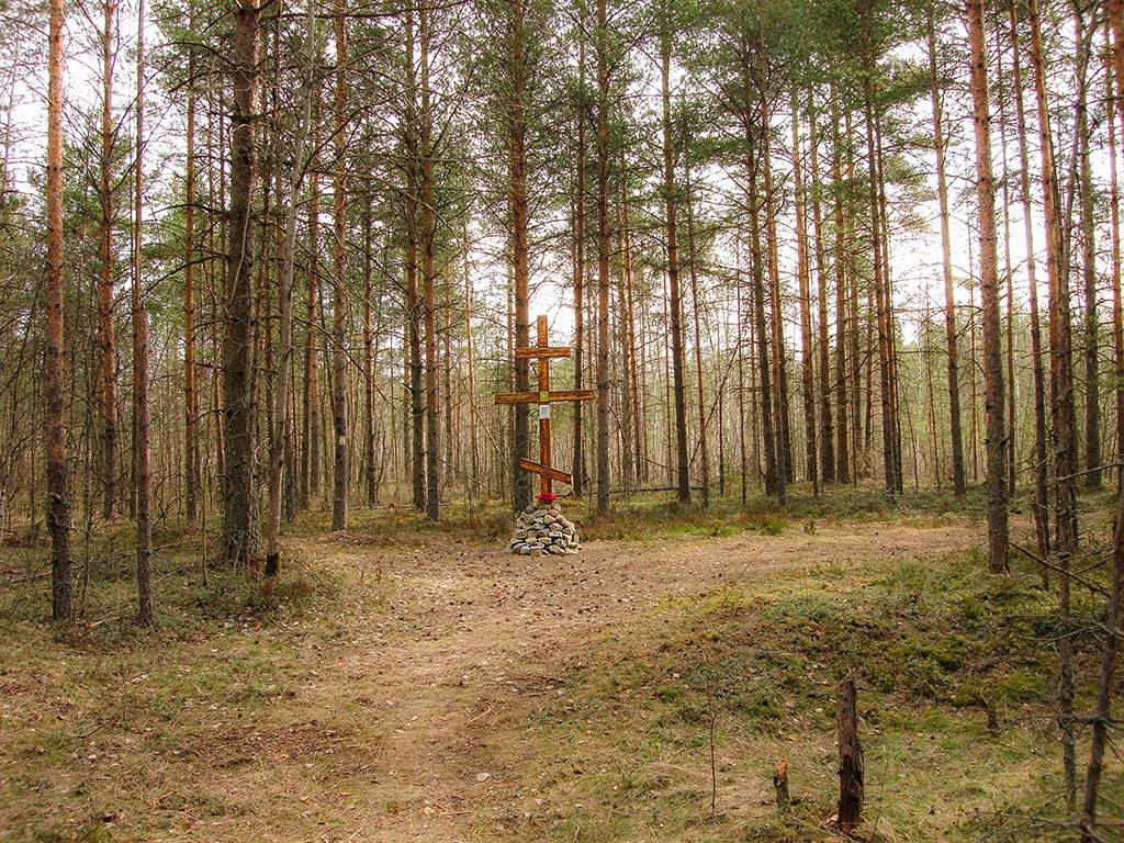"""поклонный крест """"Койран кангас."""""""