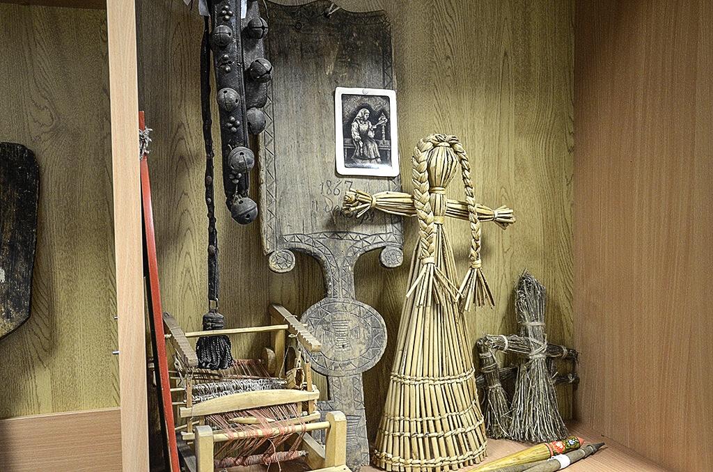 деревянные экспонаты