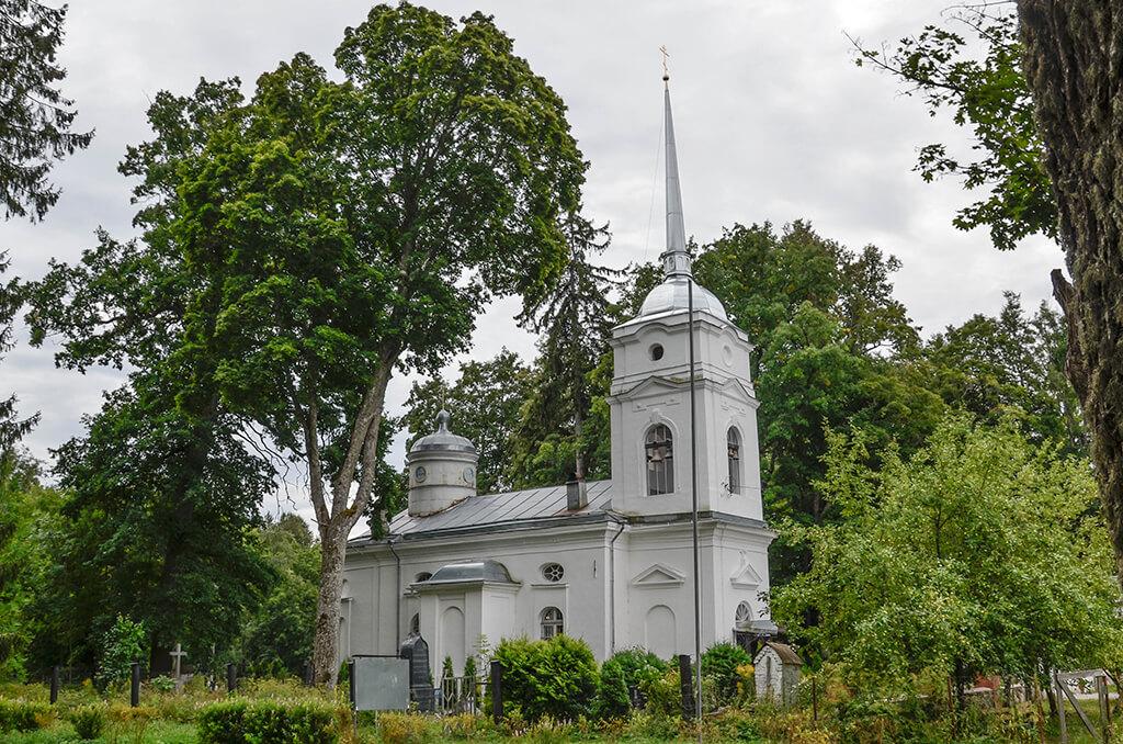 Храм покрова в Кярово
