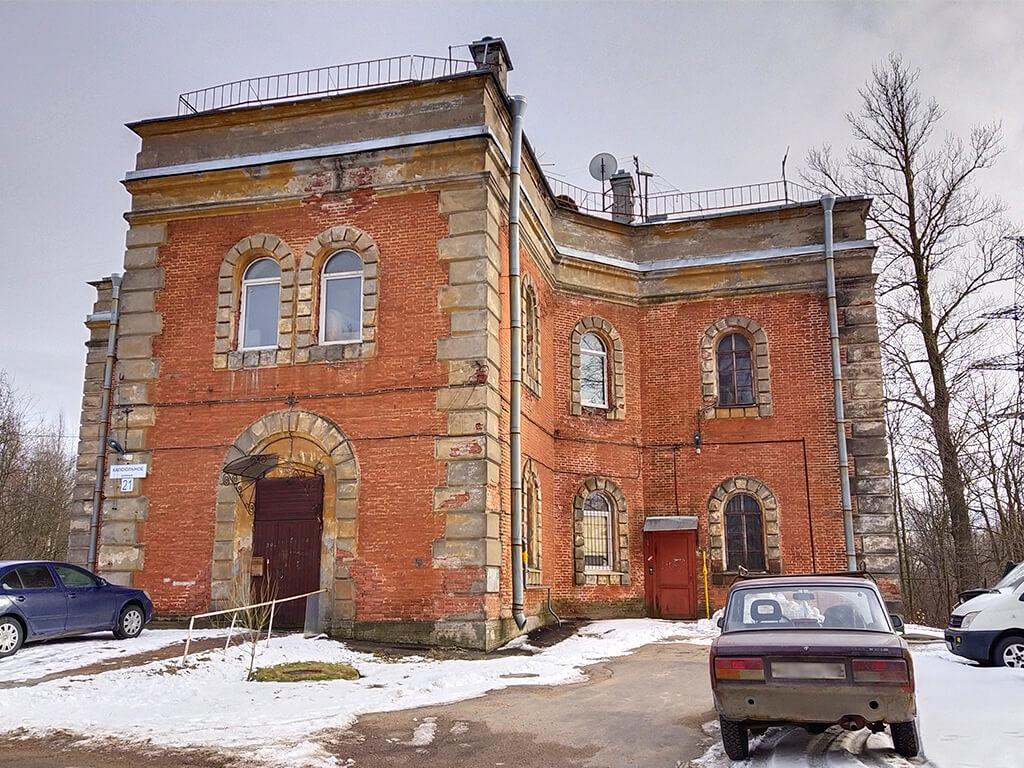 дом мельница