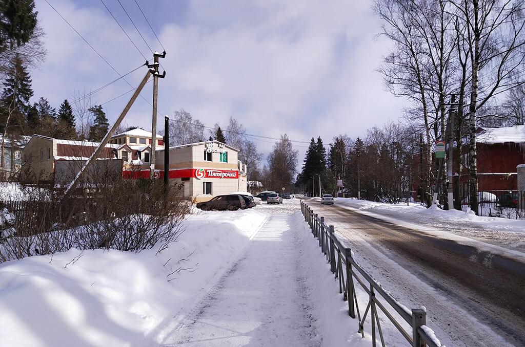 место станции Рябово