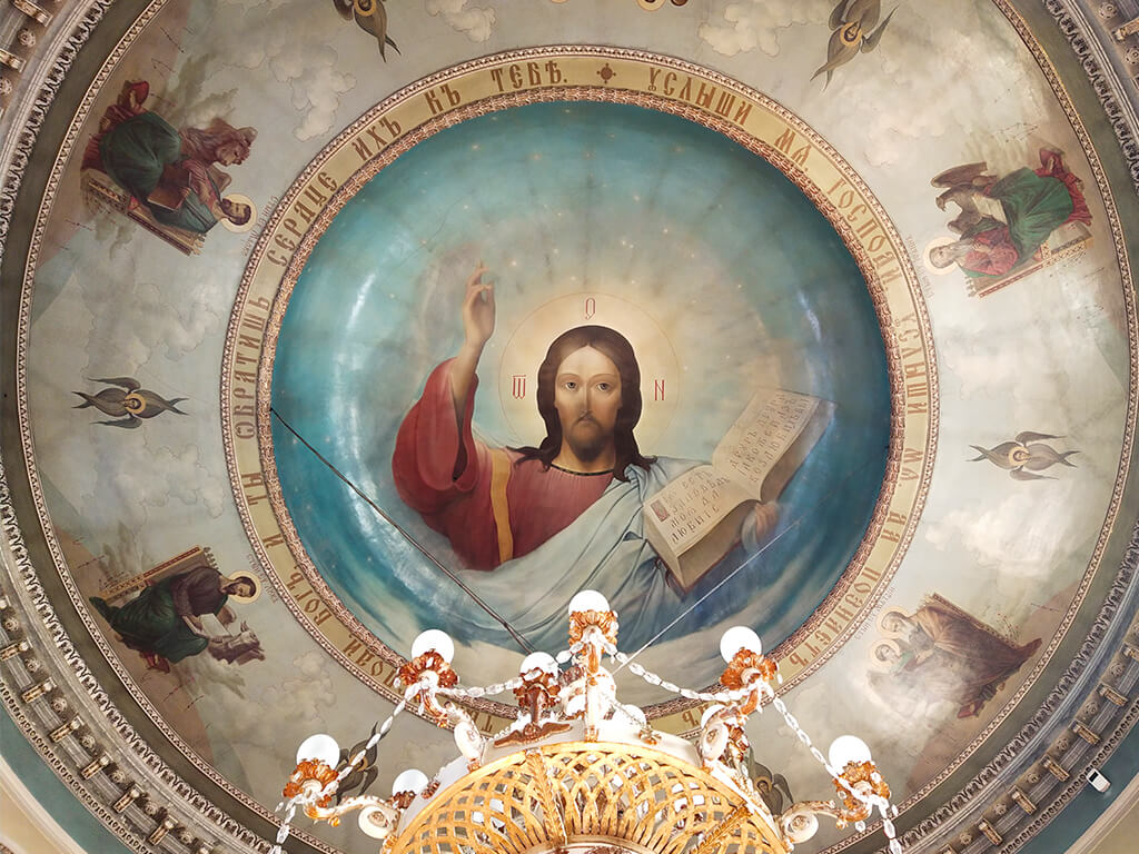 росписи в храме