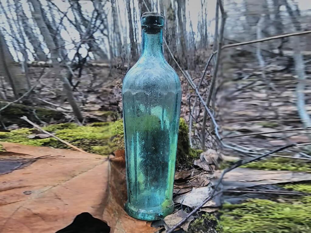 старая бутылка 1954 год.