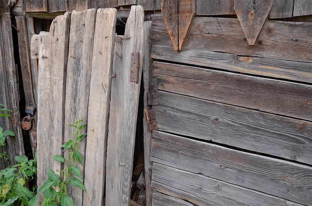 дровяной сарайчик